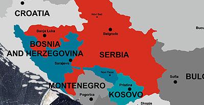 """karta republike srpske i srbije NATO """"trampa"""" srpskih za srpske teritorije Piše: Dragomir  karta republike srpske i srbije"""